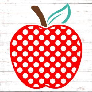 Polka Dot Apple #2