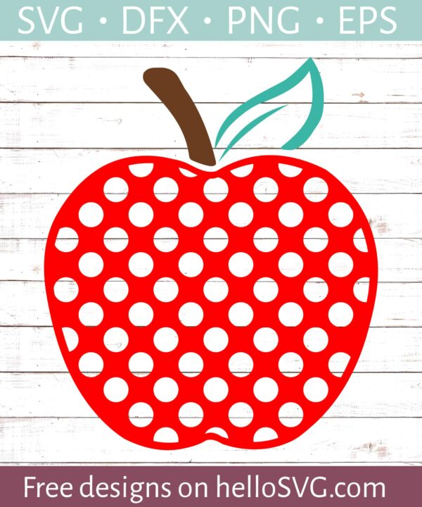 Polka Dot Apple #2