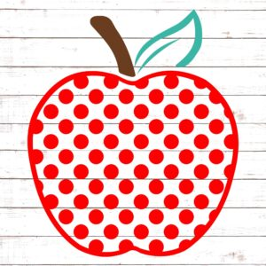 Polka Dot Apple