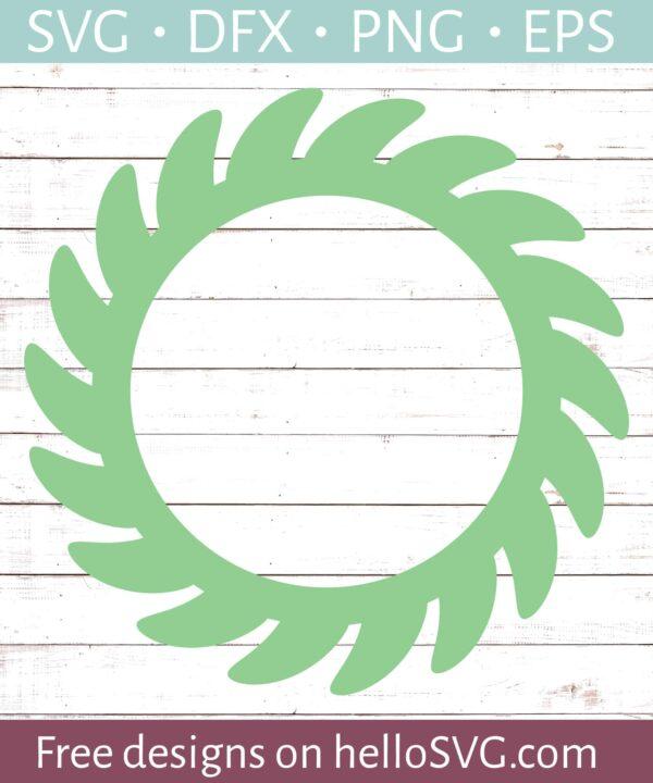 Circle Monogram Frame #10