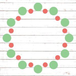 Circle Monogram Frame #13