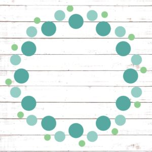Circle Monogram Frame #14
