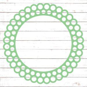 Circle Monogram Frame #21