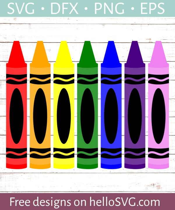 Crayons - Crayola Style