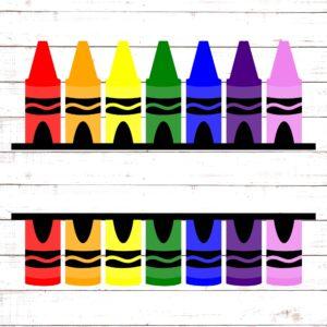Crayons Monogram