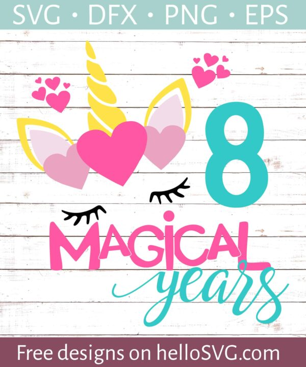 Eight Magical Years Birthday