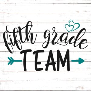Fifth Grade Team - Teacher Shirt Design