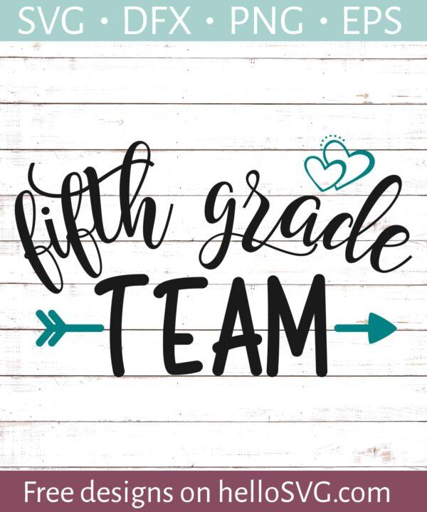 Fifth Grade Team - Teacher Shirt Design