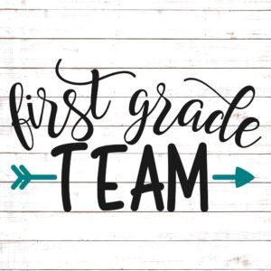 First Grade Team - Teacher Shirt Design