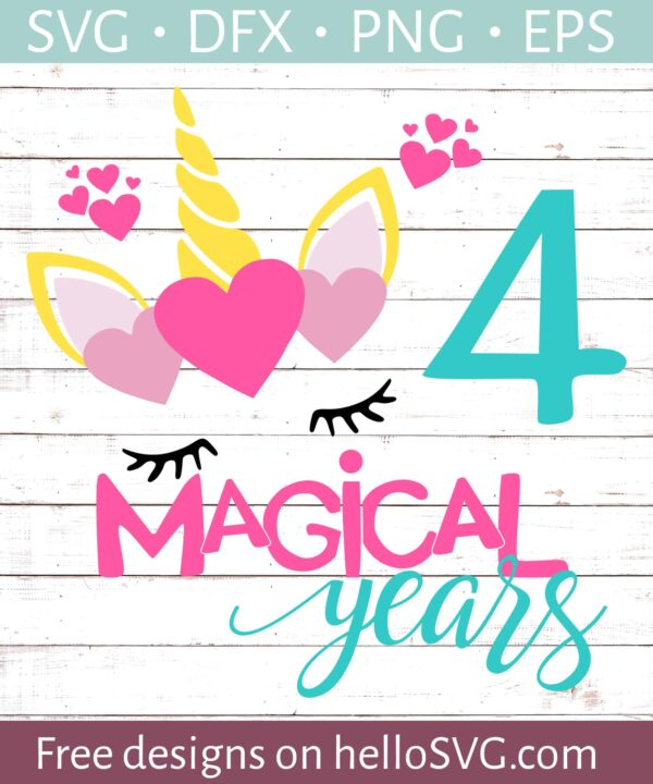 Four Magical Years Birthday