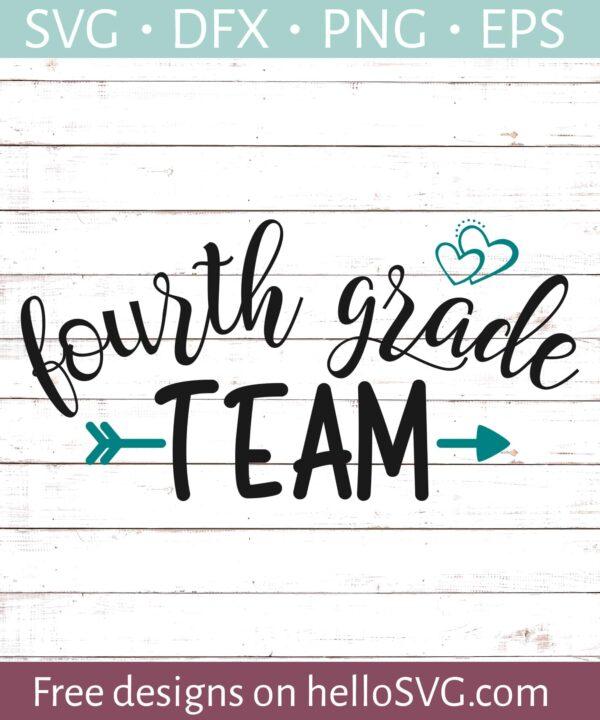 Fourth Grade Team - Teacher Shirt Design