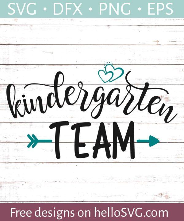 Kindergarten Team - Teacher Shirt Design