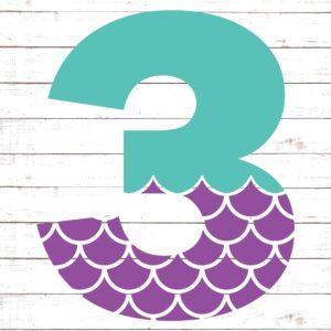 Mermaid Font 3