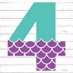 Mermaid Font 4