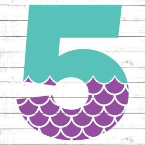 Mermaid Font 5