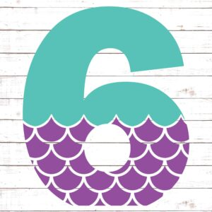 Mermaid Font 6