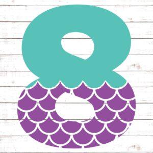 Mermaid Font 8