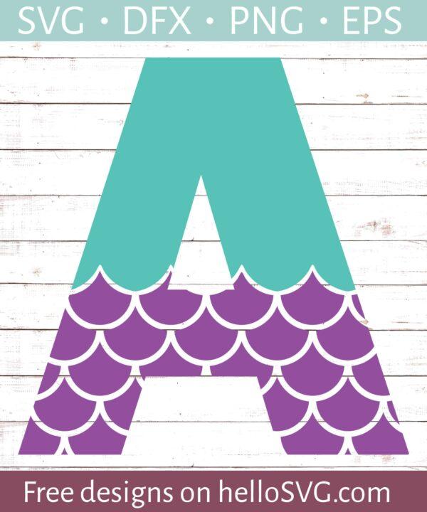 Mermaid Font A