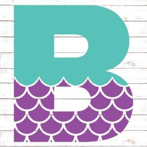 Mermaid Font B