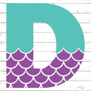 Mermaid Font D