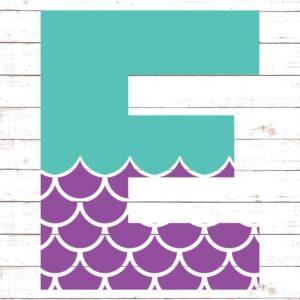 Mermaid Font E