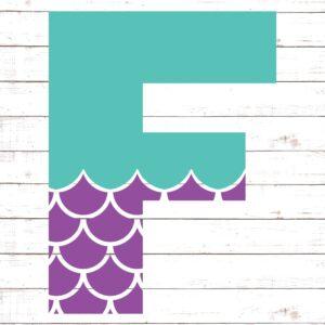Mermaid Font F