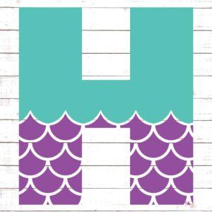 Mermaid Font H