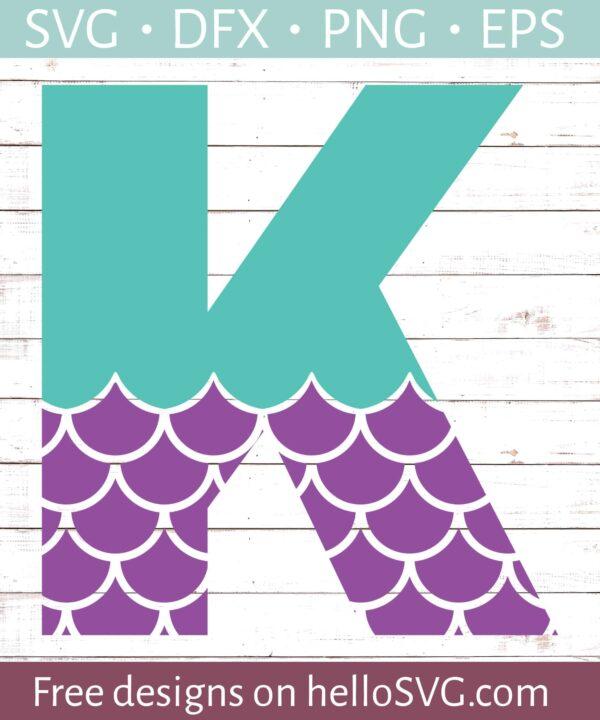 Mermaid Font K