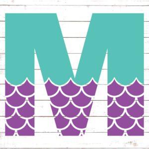 Mermaid Font M