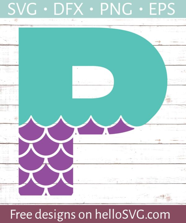 Mermaid Font P