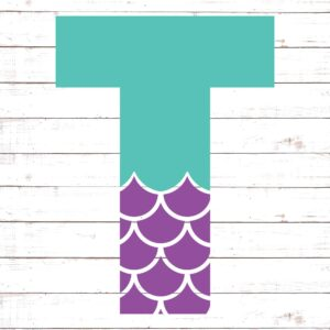 Mermaid Font T