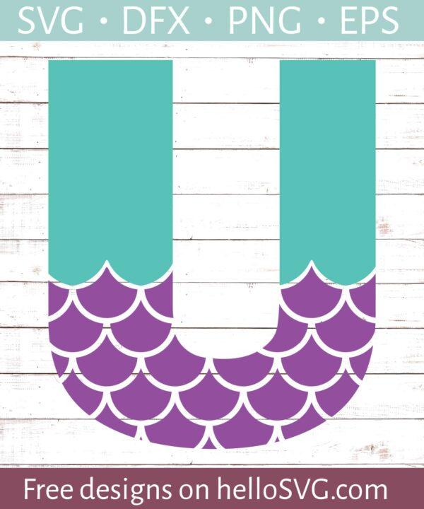 Mermaid Font U