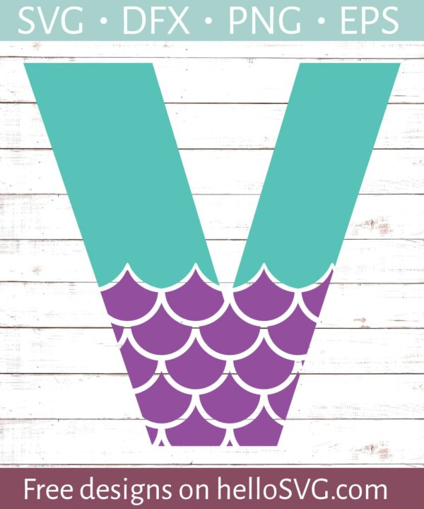 Mermaid Font V