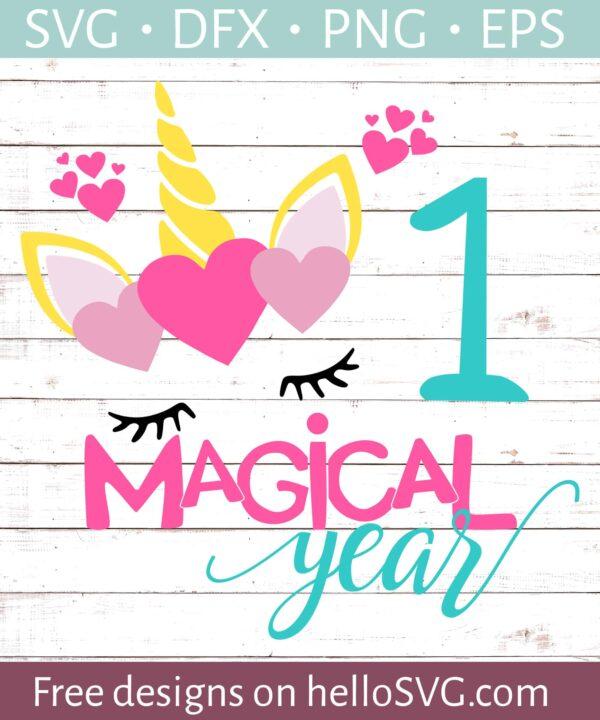 One Magical Years Birthday