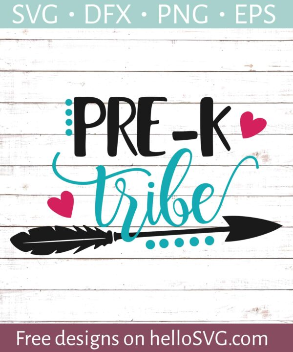 Pre-K Tribe - Teachers Shirt Design