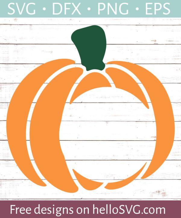 Pumpkin Monogram #1