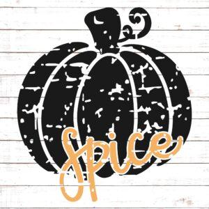 Pumpkin Spice #1 Distressed