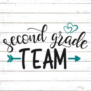 Second Grade Team - Teacher Shirt Design