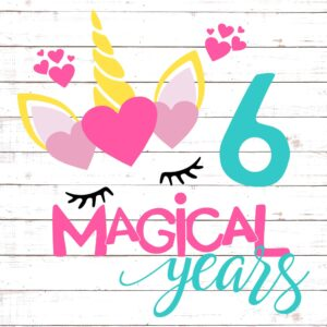 Six Magical Years Birthday