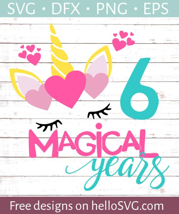 Six Magical Years Birthday