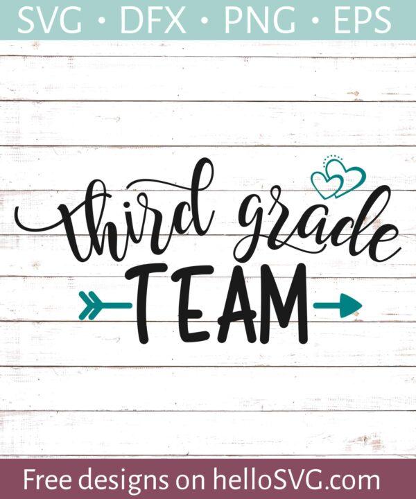 Third Grade Team - Teacher Shirt Design