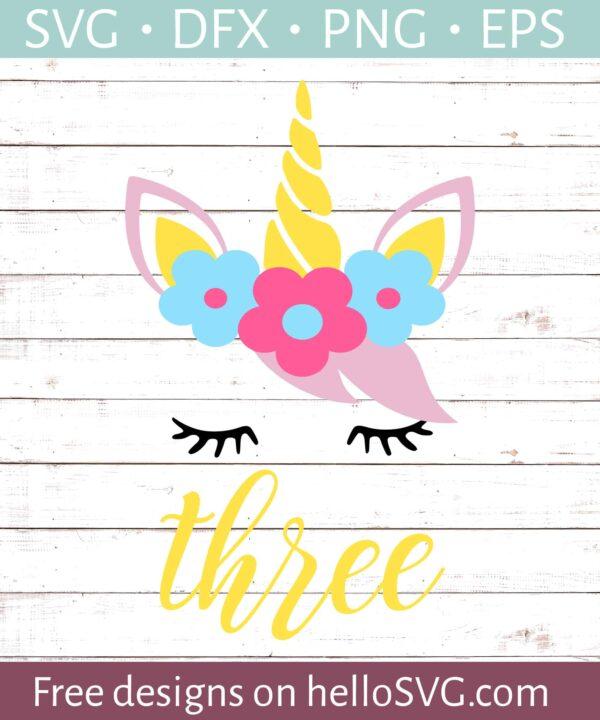 Third Birthday with Unicorn #2