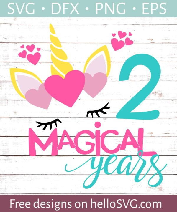 Two Magical Years Birthday