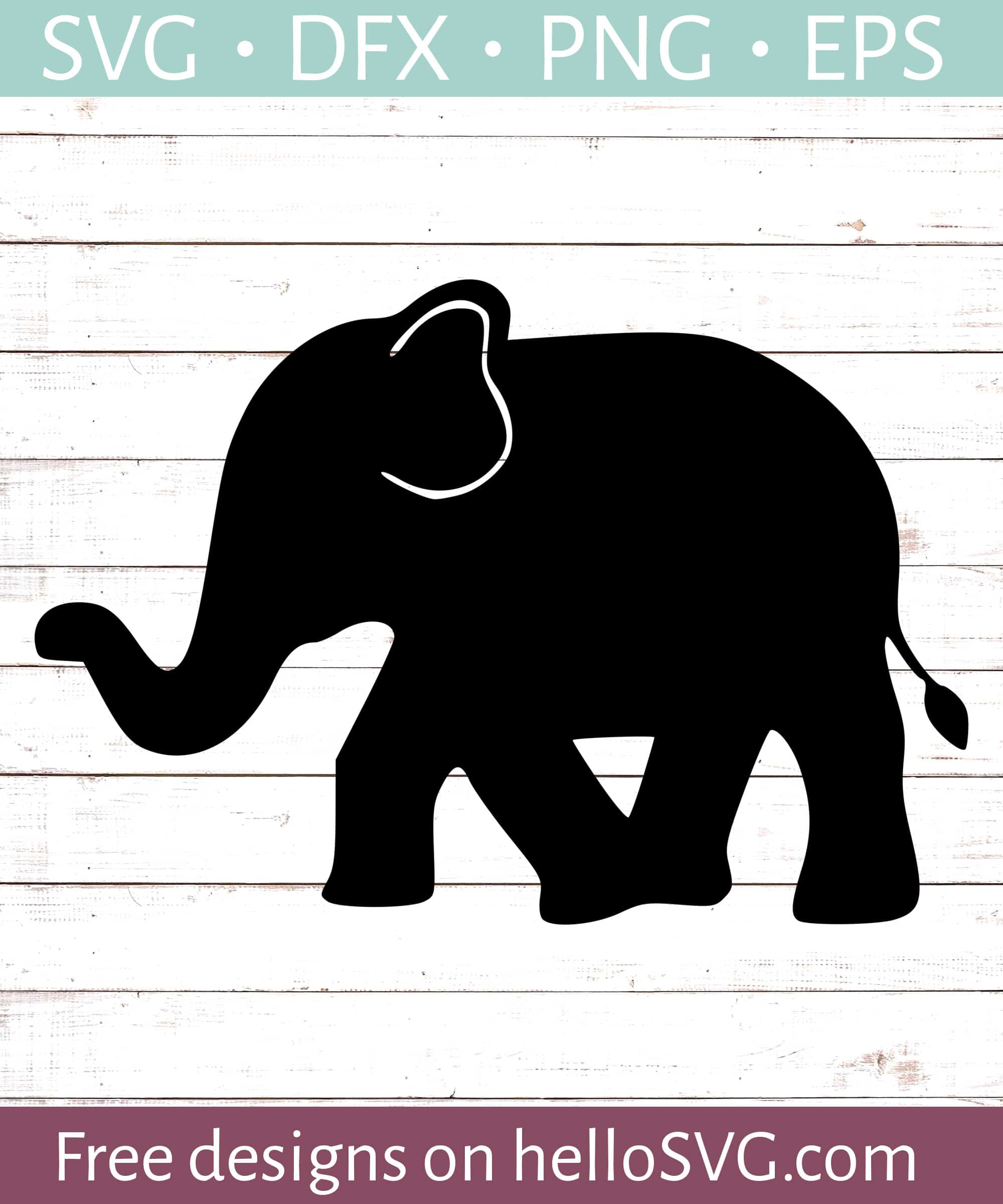 Download Walking Elephant SVG - Free SVG files | HelloSVG.com