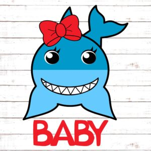 Baby Girl Shark