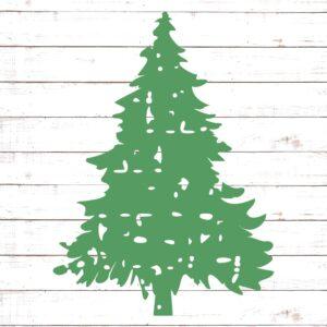 Distressed Christmas Tree