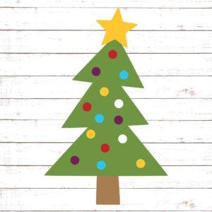 Christmas Tree - Triangles