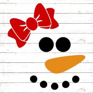 Snowman Face - Girl