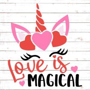 Love Is Magical Unicorn