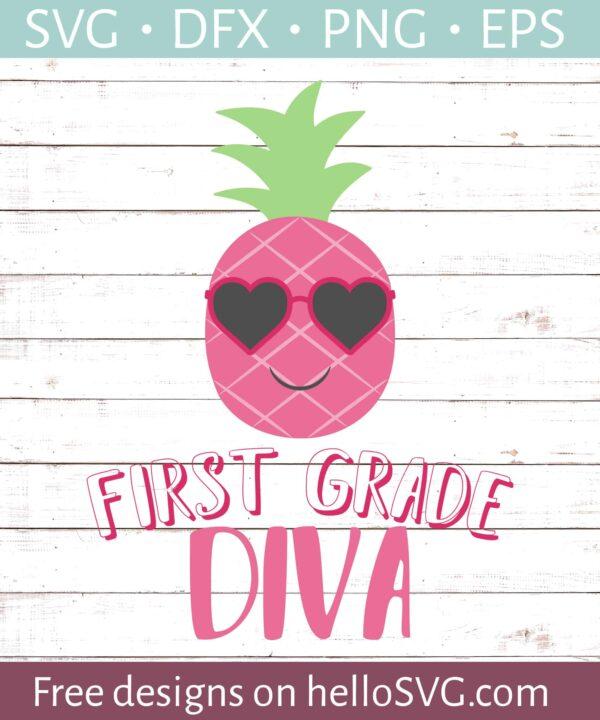 First Grade Diva